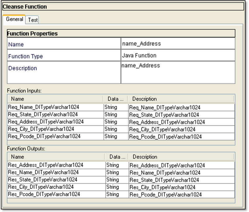 Adding an SAP Library in the Cleanse Functions Tool