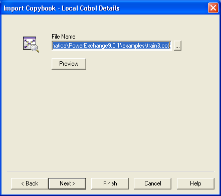 Step 1  Add a Data Map and Import a COBOL Copybook into the Data Map